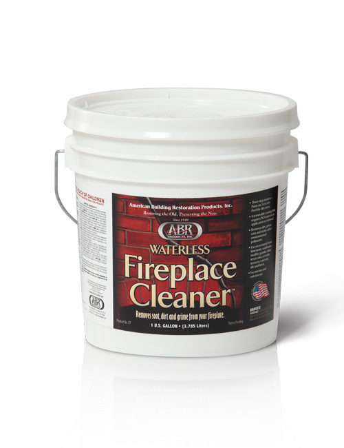 ABR® Waterless Fireplace Cleaner - American Building Restoration ...